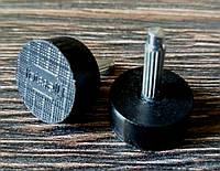 Набойки полиуретановые на штыре женские BISSELL (Италия), р. 600 (d9мм), толщина штыря 2.9 мм, цв. черный