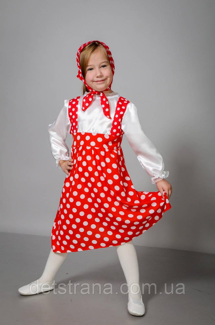 Карнавальный костюм для девочки Маша