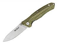 Нож складной  прочная сталь рукоять-микарта