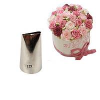 Лепесток розы Насадка  для крема  №125