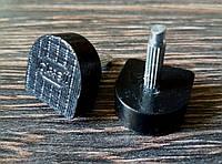 Набойки п/у на штыре женские BISSELL, р. 609А (14х14мм), толщ. шт. 2.2мм, цв. черный