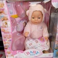 Детский пупсик Беби берн мишка