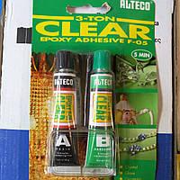 Эпоксидный клей ALTECO 3 TON CLEAR (прозрачный)