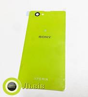 Задня кришка Sony Xperia Z1 Compact mini D5503 D5533  Yellow