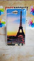 Силиконовый бампер чехол для Sony Xperia S39h C2305 с рисунком Париж