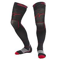 Носки ALPINESTARS MX LONG красный черный S/M