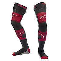 Носки ALPINESTARS KNEE BRACE красный черный серый S/M