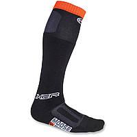 Носки Moose XCR черный оранжевый M/L