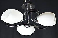 Люстра потолочная трехламповая PR1310-3BK, фото 1
