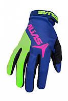 Мотоперчатки Alias AKA GLOVE BLUE/NEON GREEN L (10) (шт.)