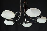 Люстра потолочная пятиламповая PR1310-5BK, фото 1