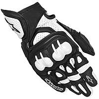Перчатки Alpinestars GPX кожатекст. blackwhite -XL- арт.3567013 12 3567013 12