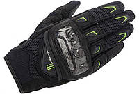 "Перчатки Alpinestars M30 AIR кожа/текстиль black/green ""XL"", арт. 3567814 16, арт. 3567814 16"