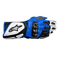 "Перчатки Alpinestars SP-2 кожа white\black\blue ""XL"", арт.3558212 217, арт. 3558212 217"