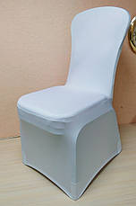 Стрейч чехол на стул из Плотной эластичной ткани Спандекс, фото 2