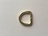 Полукольцо, ширина 15 мм, толщина 4 мм, цвет - золото, артикул СК 5068, фото 1