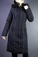 Длинное зимнее пальто
