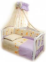Twins Детский постельный комплект Twins Comfort С-003 Африка (violet)