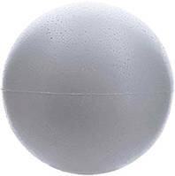 Пенопластовый шар 25 см из двух пустых половинок Шары-заготовки из пенопласта