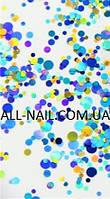 Конфетти для дизайна ногтей, ОРИГИНАЛ