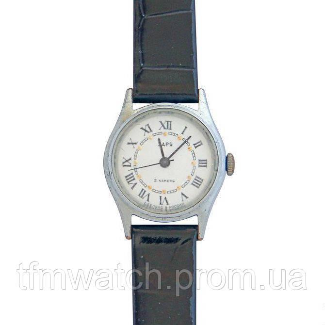 Заря женские механические часы Россия