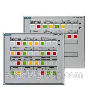 Кнопочная панель оператора 6AV3688-3ED13-0AX0 PUSH BUTTON PANEL PP17-II