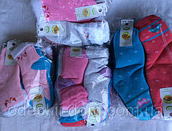 Носки стрейчевые с махрой на девочек тм Эко Червоноград р20-22(9-10)