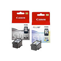 КОМПЛЕКТ Canon PG-510+Color CL-511 9ml. для  MP240, MP250, MP252, MP260, MP270, MP272