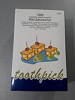 Зубочистка 6,8см 1000шт в упаковці
