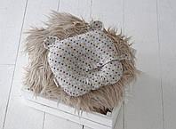 """Детская подушка для новорожденных """"Мишкины ушки"""", звезды, фото 1"""