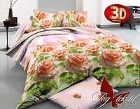 Комплект постельного белья Семейный ТМ TAG R1434