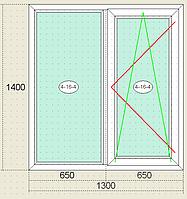 Окна металлопластиковые Veka Века, пятикамерный профиль, однокамерный стеклопакет, недорого, качественно