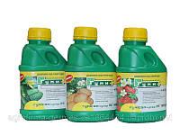 Удобрение «Гумисол-супер» с биогенными элементами для 8 видов овощных и плодовых культур 0,5 л.