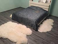 Большой ковёр из Шкур длинноворсой румынской овцы