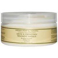 Nubian Heritage, Маска для усиления роста и восстановления волос с маслами индийской конопли и таману, 283 гр