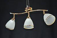 Люстра потолочная трехламповая PR76942-3GD, фото 1