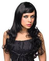 Парик длинные вьющиеся волосы Shirley Wigs Black