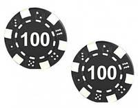 """Набор для покера: 25 фишек, номинал """"100"""""""