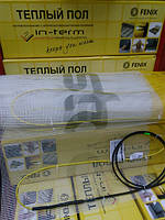 Нагревательный мат In-Term FENIX Чехия на 2.2 м.кв для теплого пола