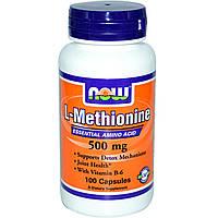 L-метионин L-Methionine 500 mg (100 caps)