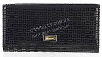 Стильный оригинальный женский кожаный кошелек с замши высокого качества ELEGANT art. 5242#ZP1-1 черный