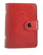 Візитниця Бріск 24 карти ВВ-4 Sarif червоно-коричневий