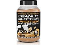 Натуральная арахисовая паста Peanut Butter +Protein (500 g)