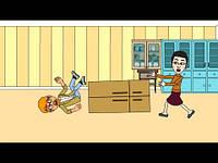 Рекламный ролик услуг грузчиков