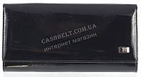 Классический оригинальный женский кожаный кошелек высокого качества WILDNESS art.2030-C35 черный лак