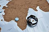 Скретч карта мира (Scratch Map)английский язык, фото 4