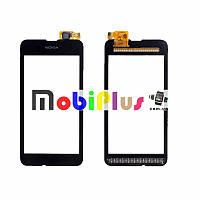 Тачскрин Nokia Lumia 530 сенсорний экран сенсор черный High Copy
