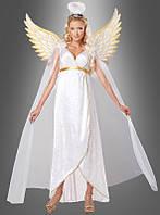 Карнавальное платье для образа ангела с крыльями
