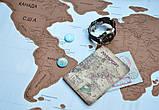 Скретч карта мира (Scratch Map)английский язык, фото 3