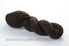Пряжа Aade Long Kauni Natural Yarn 8/1 Коричнево-Черный